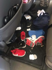 Tips from a Busy Mom on keeping your Van Clean