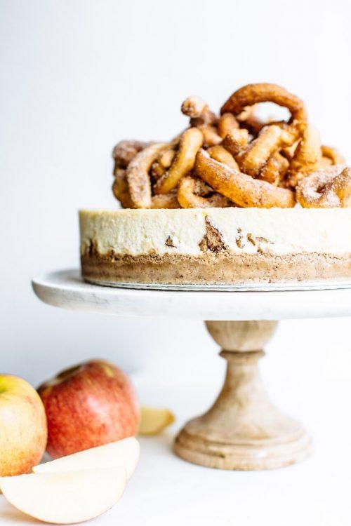 Recipe Envy Apple Churro Cheesecake Enter Sweepstakes My
