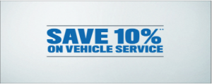 10% off Service or Parts Coupon