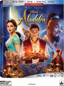 Disney's Aladdin in Live Action is now available on DVD, Blu-Ray and Digital